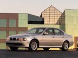 BMW 530i Sedan US-spec (E39) 2000–03 photos