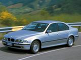 BMW 520d Sedan (E39) 2000–03 pictures