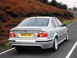 BMW 530d Sedan M Sports Package (E39) 2002 images
