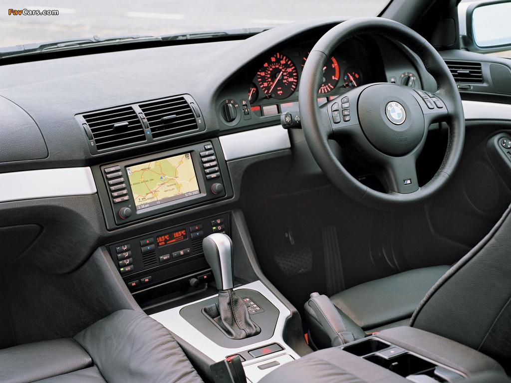 BMW 530d Sedan M Sports Package (E39) 2002 photos (1024 x 768)