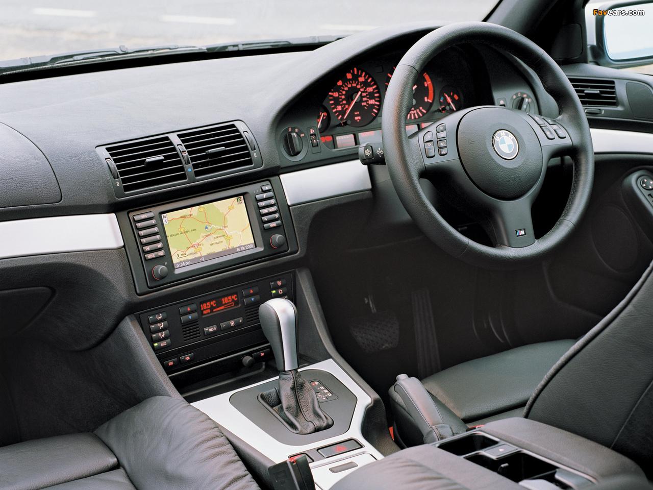 BMW 530d Sedan M Sports Package (E39) 2002 photos (1280 x 960)