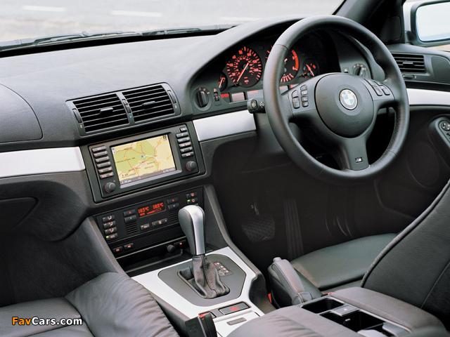 BMW 530d Sedan M Sports Package (E39) 2002 photos (640 x 480)