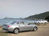 BMW 5 Series Sedan (E60) 2003–07 images
