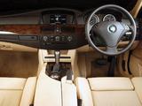 BMW 530d Sedan ZA-spec (E60) 2003–07 images