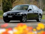 BMW 530i Sedan AU-spec (E60) 2003–07 images