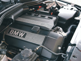 BMW 520i Sedan UK-spec (E60) 2003–05 wallpapers