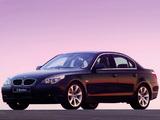 BMW 530d Sedan ZA-spec (E60) 2003–07 wallpapers