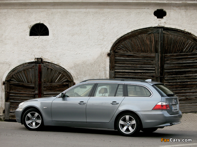 bmw 530d touring e61 2004 07 images 640x480. Black Bedroom Furniture Sets. Home Design Ideas