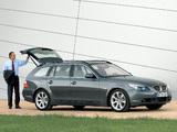 BMW 545i Touring (E61) 2004–05 images