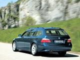 BMW 535d Touring (E61) 2004–07 images