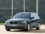 BMW 545i Touring (E61) 2004–05 photos