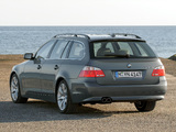 BMW 545i Touring (E61) 2004–05 pictures