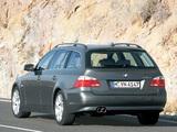 BMW 545i Touring (E61) 2004–05 wallpapers