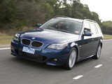 BMW 530i Touring M Sports Package AU-spec (E61) 2005 images