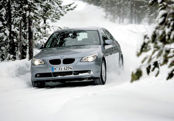BMW 530xi Sedan (E60) 2005–07 images