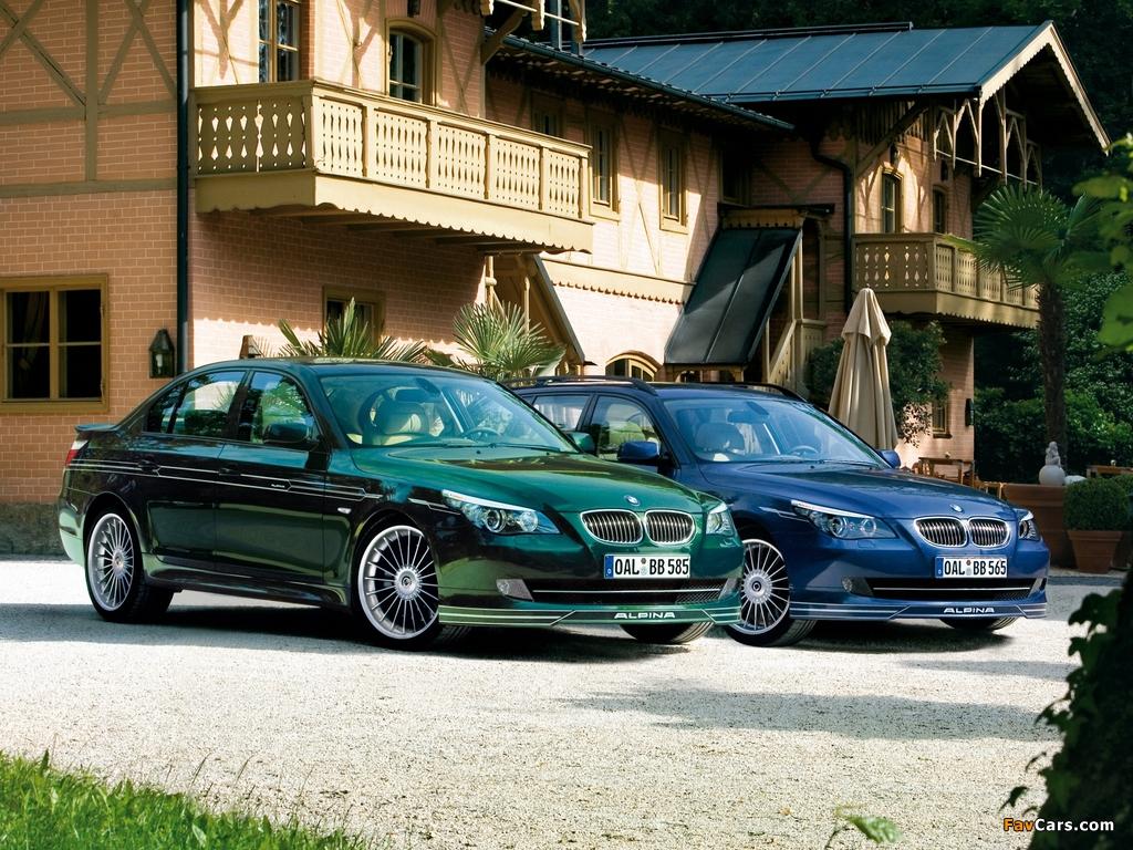 Alpina BMW 5 Series (E60-E61) 2005–10 pictures (1024 x 768)