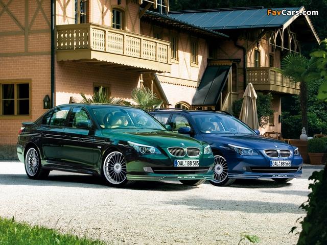 Alpina BMW 5 Series (E60-E61) 2005–10 pictures (640 x 480)