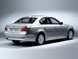 BMW 520d Sedan (E60) 2005–07 wallpapers