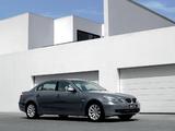 BMW 530Li (E60) 2006–10 pictures