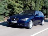 BMW 530i Touring (E61) 2007–10 photos