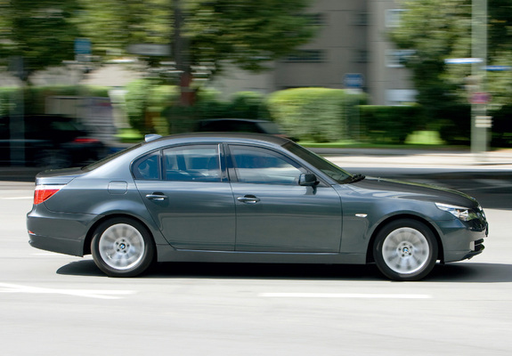 BMW 5 Series Security (E60) 2008–10 wallpapers