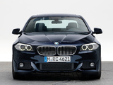 BMW 535d Sedan M Sports Package (F10) 2010–13 images