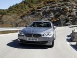 BMW 535i Sedan UK-spec (F10) 2010 images