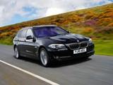 BMW 525d Touring UK-spec (F11) 2010 images