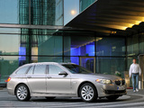 BMW 520d Touring (F11) 2010–13 images