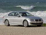BMW 530d Sedan (F10) 2010–13 images