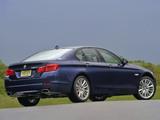 BMW 550i Sedan US-spec (F10) 2010–13 photos