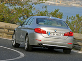 BMW 530d Sedan (F10) 2010–13 photos