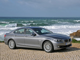 BMW 535i Sedan (F10) 2010–13 pictures