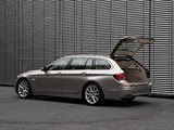 BMW 520d Touring (F11) 2010–13 pictures
