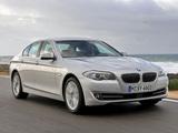 BMW 530d Sedan (F10) 2010–13 pictures