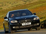 BMW 525d Touring UK-spec (F11) 2010 pictures