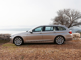 BMW 5 Series Touring (F11) 2010–13 pictures