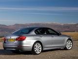 BMW 535i Sedan UK-spec (F10) 2010 wallpapers