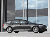 BMW 520d Touring M Sports Package AU-spec (F11) 2011 images