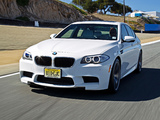 BMW M5 US-spec (F10) 2011 photos