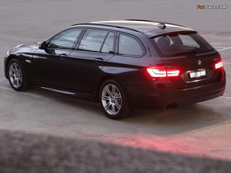 BMW 520d Touring M Sports Package AU-spec (F11) 2011 photos (800 x 600)