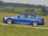 BMW M5 (F10) 2011–13 pictures