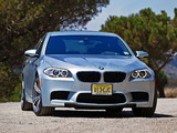 BMW M5 US-spec (F10) 2011 pictures