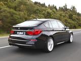 BMW 520d Gran Turismo M Sport Package AU-spec (F07) 2012–13 images