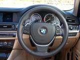 BMW ActiveHybrid 5 ZA-spec (F10) 2012 images