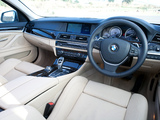 BMW ActiveHybrid 5 ZA-spec (F10) 2012 photos
