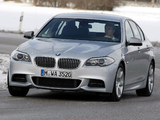 BMW M550d xDrive Sedan (F10) 2012 wallpapers