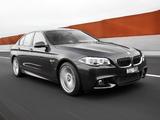 BMW 550i Sedan M Sport Package AU-spec (F10) 2013 images