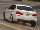 BMW 535d Sedan M Sport Package US-spec (F10) 2013 images