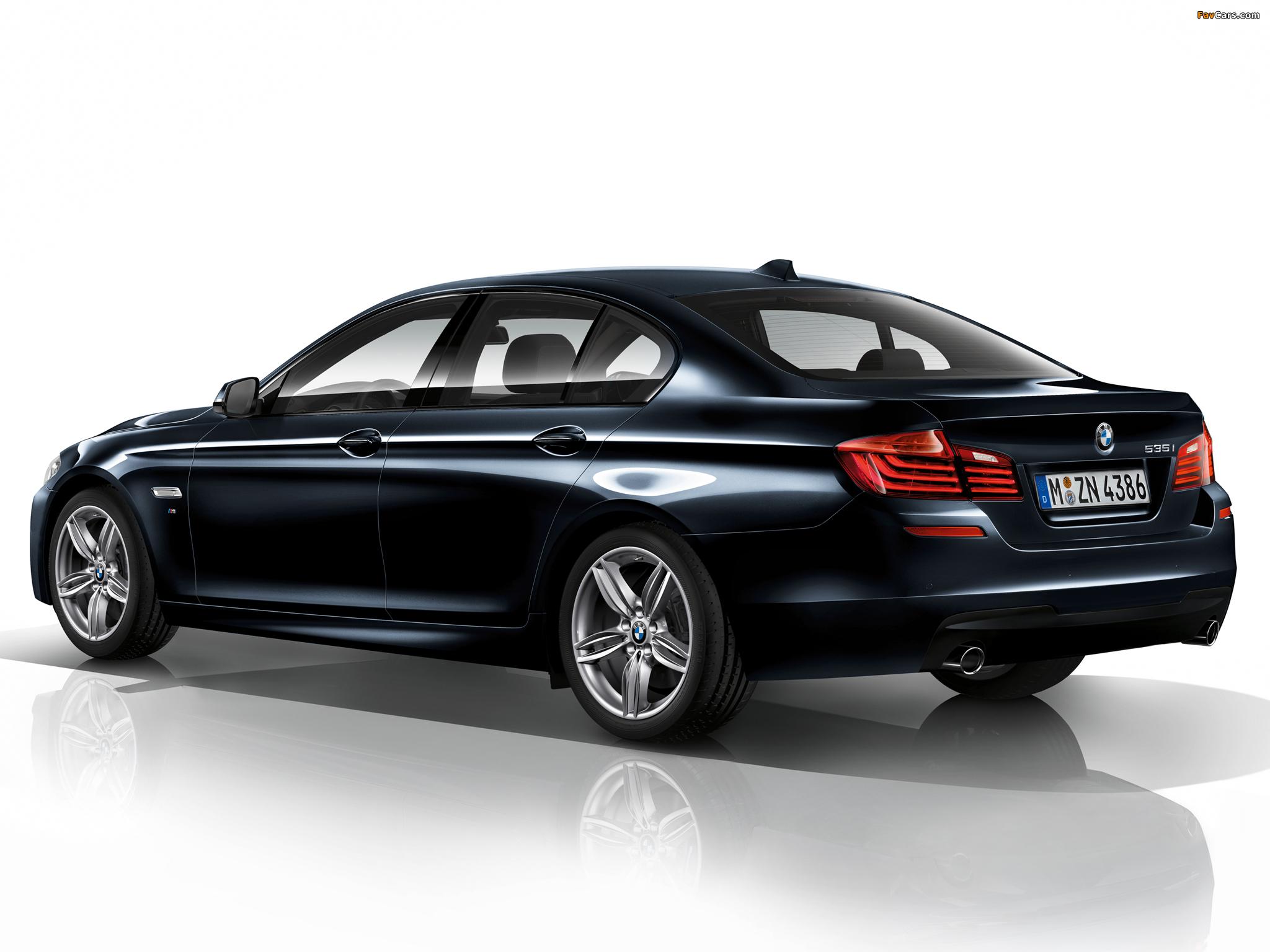 BMW 535i Sedan M Sport Package F10 2013 Images 2048 X 1536